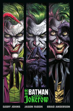 """""""Batman – Trzech Jokerów"""" oraz """"Batman – Ich mroczne plany"""" i """"Kod Oracle"""" już w sprzedaży"""