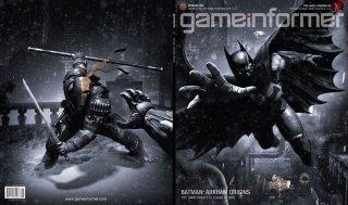Batman: Arkham Origins - Gameinformer Cover