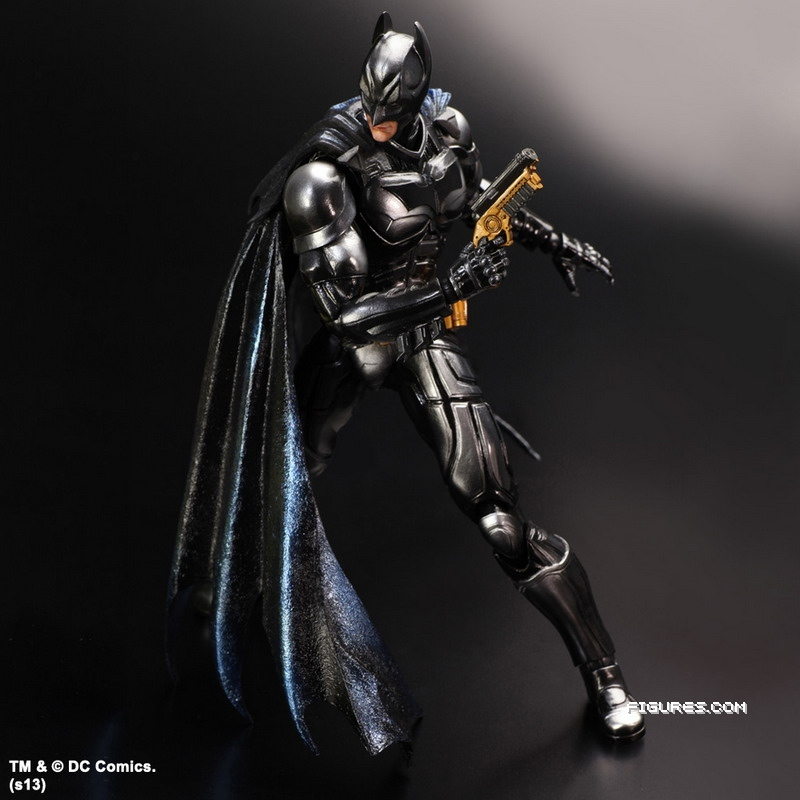 Batman Arkham Knight Batcave: Figurki: Play Arts Kai Batman, Hugo Strange I Super Best