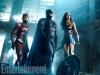 Flash, Batman, Wonder Woman