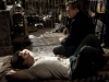 Bruce Wayne i Christopher Nolan na planie TDKR