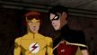 """""""Young Justice"""" - Kid Flash i Robin"""