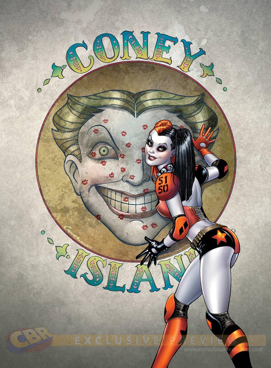 """Harley Quinn #1"""
