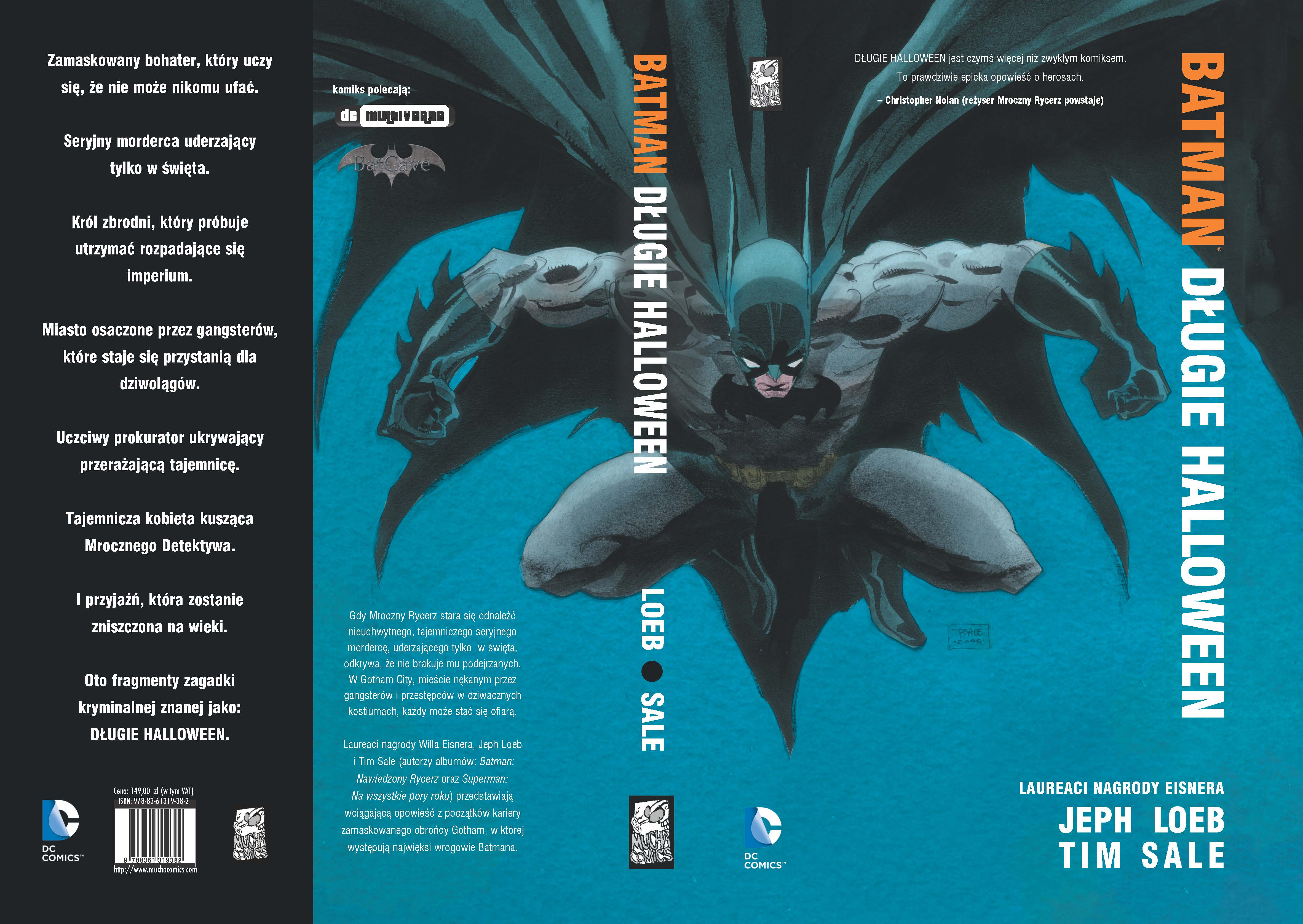 """""""Batman: Długie Halloween"""" - polska oprawa"""