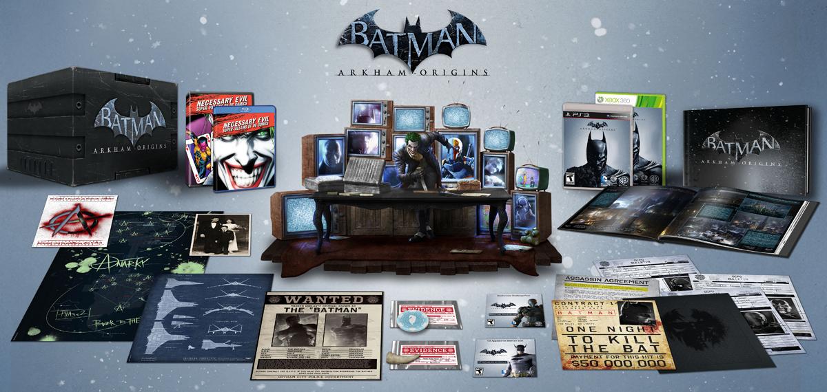 """Amerykańskie wydanie kolekcjonerskie """"Batman: Arkham Origins"""""""