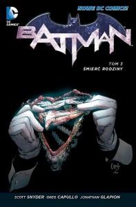 """""""Batman, Tom 3: Śmierć rodziny"""" - dodruk"""