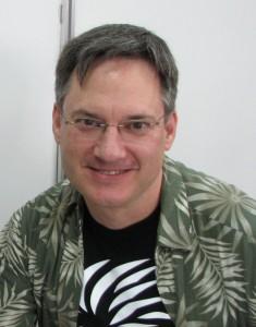 Norm Breyfogle podczas Międzynarodowego Festiwalu Komiksu i Gier 2010