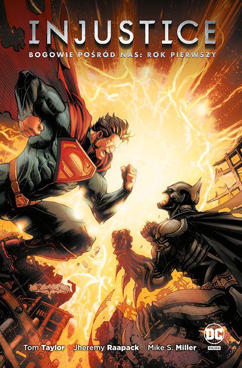 """""""Injustice. Bogowie pośród nas. Rok pierwszy. Tom 1"""", """"Batman Metal. Batman Death Metal. Tom 1"""" i """"Ptaki Nocy. Wielkie łowy"""" już w sprzedaży"""