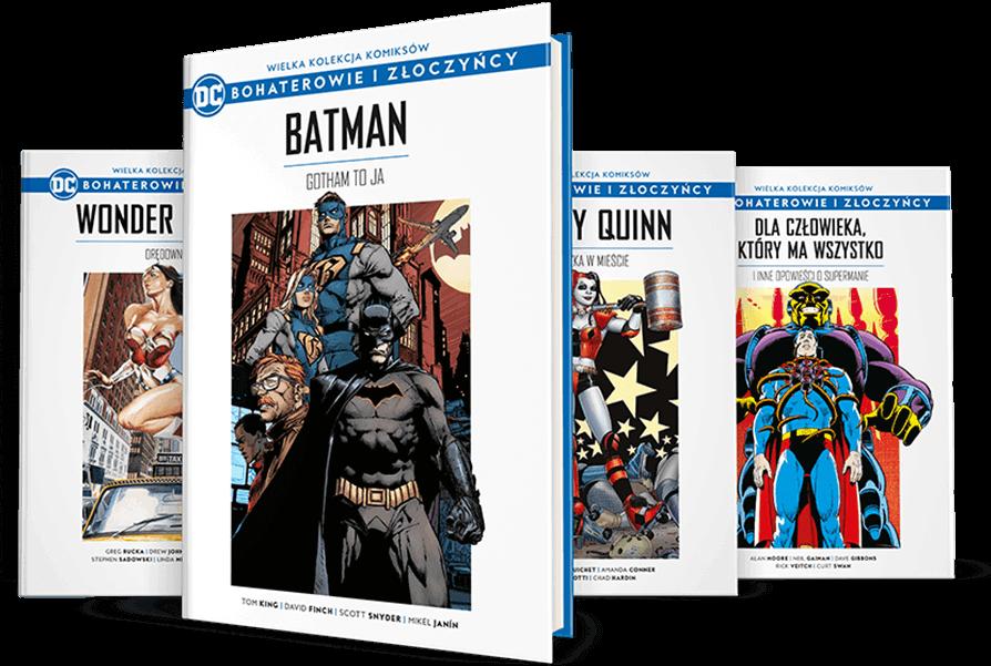 """Start """"Wielkiej Kolekcji Komiksów DC: Bohaterowie i Złoczyńcy"""" od Hachette"""